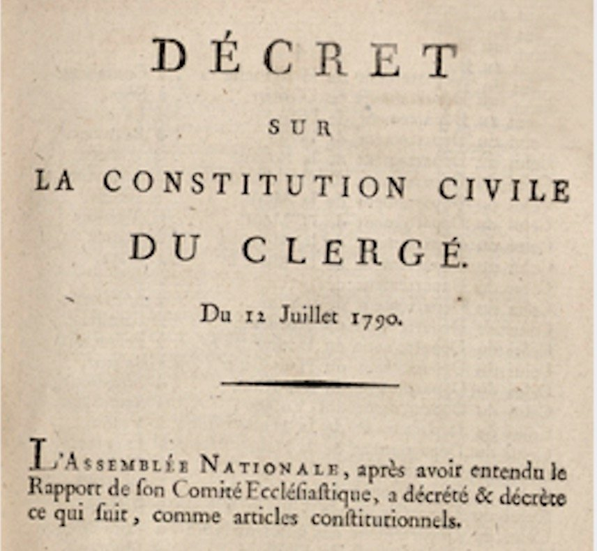 Constitution civile du clerge